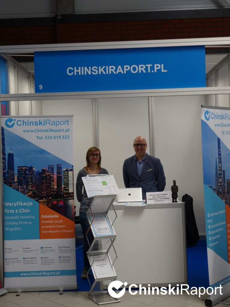 ChinskiRaport na targach Homelife