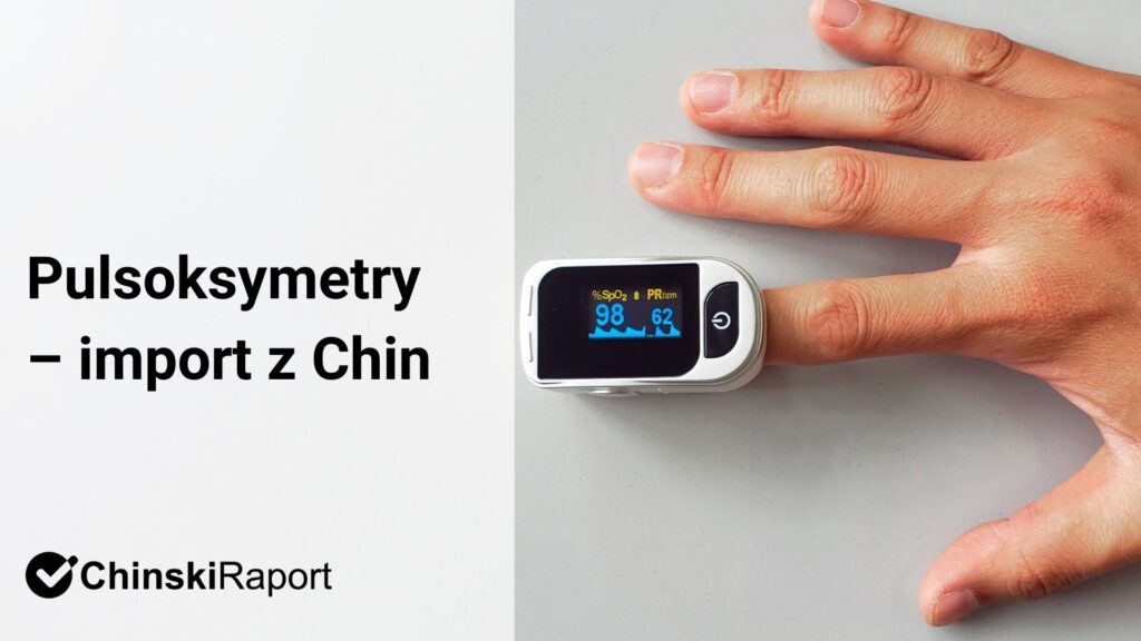 Pulsoksymetry – import z Chin